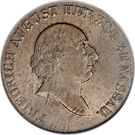 1 Thaler - Friedrich August – obverse