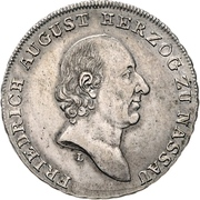 ½ Thaler - Friedrich August – obverse