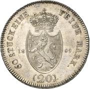 20 Kreuzer - Friedrich August – reverse