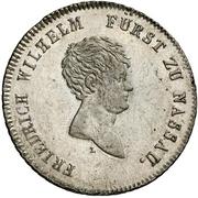 20 Kreuzer - Friedrich Wilhelm zu Weilburg (Konventionskreuzer) – obverse