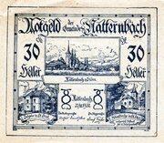 30 Heller (Natternbach) – obverse