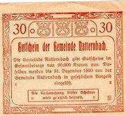 30 Heller (Natternbach) – reverse