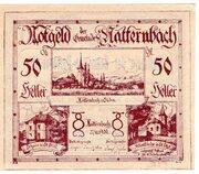 50 Heller (Natternbach) – obverse