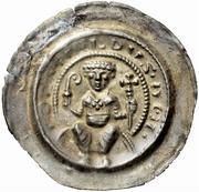 1 Brakteat - Berthold II. – obverse