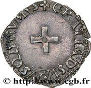 Liard - Antoine de Bourbon et Jeanne d'Albret – reverse