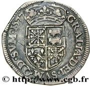 Teston - Henri III de Navarre – reverse