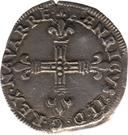 ¼ Écu - Henri II – obverse