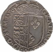 Franc - Henri II – reverse