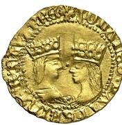 Ducado - Juan III and Catalina – obverse
