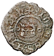 ½ Cornado - Juan III and Catalina – obverse