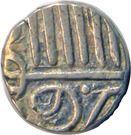 ½ Kori - Muzaffar Shah III – reverse