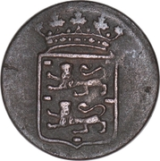 ½ Duit (West Friesland) – obverse