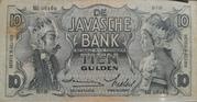 10 Gulden (De Javasche Bank) – obverse