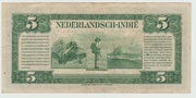 5 Gulden -  Netherlands Indies 1943 – reverse