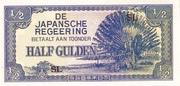 ½ Gulden (Japanese Occupation) – obverse