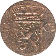 1 Cent/Duit - Willem I -  obverse