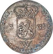 3 Gulden – obverse