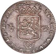 ¼ Gulden (Kwartgulden) – obverse