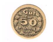 50 Pfennig (Gewerbebank) – obverse