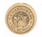 50 Pfennig (Gewerbebank) – reverse