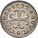 ½ Kreuzer - Friedrich Wilhelm III – reverse