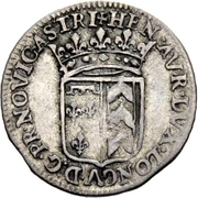 10 Kreuzer - Heinrich II – obverse