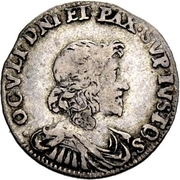 10 Kreuzer - Heinrich II – reverse
