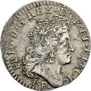 10 Kreuzer - Friedrich I – obverse