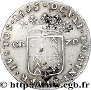 20 Kreuzer - Marie de Nemours – reverse