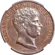 5 Francs (Pattern) – obverse