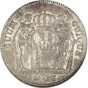 21 Batzen - Friedrich Wilhelm III – reverse
