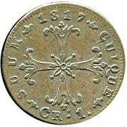1 Kreuzer - Friedrich Wilhelm III – reverse