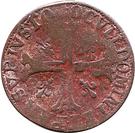 ½ Batzen - Heinrich II – reverse