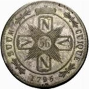 56 Kreuzer - Friedrich Wilhelm II – reverse