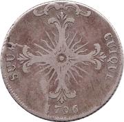 10½ Batzen - Friedrich Wilhelm II – reverse
