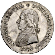 21 Batzen - Friedrich Wilhelm III – obverse