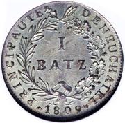 1 Batzen - Alexandre Berthier – reverse