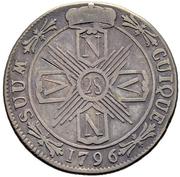 28 Kreuzer - Friedrich Wilhelm II – reverse
