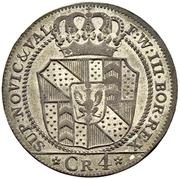 4 Kreuzer - Friedrich Wilhelm III – obverse