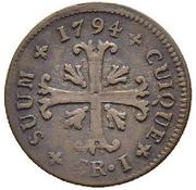 1 Kreuzer - Friedrich Wilhelm II (NOVIC) – reverse