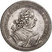 Thaler - Frederick William I – obverse