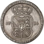 Thaler - Frederick William I – reverse