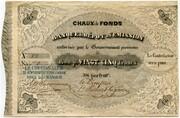 25 Francs (Banque de Dépôt et d'Émission) – obverse