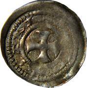 Denier - Thibaud II (Fiefdom of Neufchâteau) – reverse