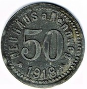 50 Pfennig - Neuhaus a. Rennweg – obverse
