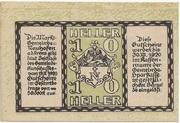10 Heller (Neuhofen a. d. Krems) -  reverse