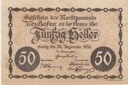 50 Heller (Neuhofen a. d. Krems) -  obverse