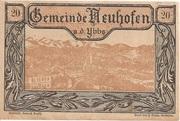 20 Heller (Neuhofen a. d. Ybbs) -  obverse
