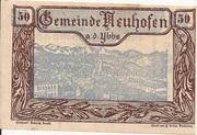 50 Heller (Neuhofen a. d. Ybbs) -  obverse