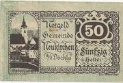50 Heller (Neukirchen a. d. Vöckla) – obverse